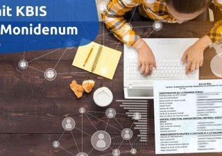 MonIdNum - extrait Kbis gratuit